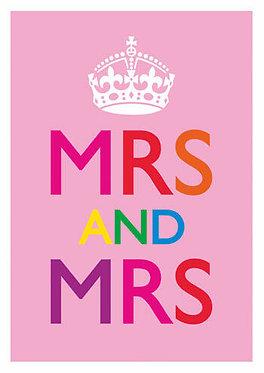 Wedding Mrs & Mrs