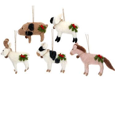 Animals Christmas Decorations