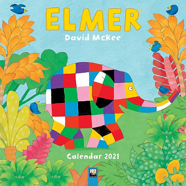 Elmer 2021 Wall Calendar