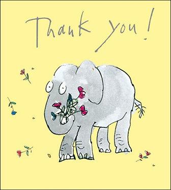 Quentin Blake Thank you Card