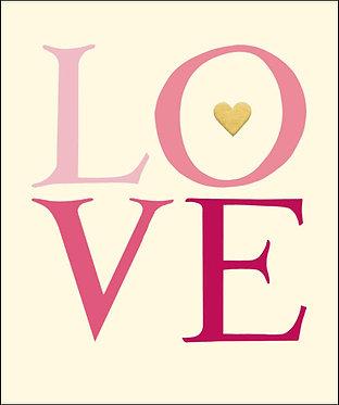 Emma Bridgewater Love Card