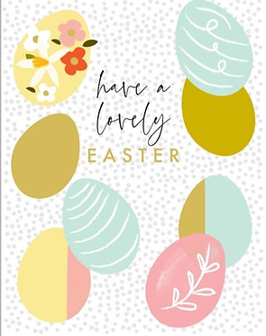 Lovely Easter Eggs by Think of Me