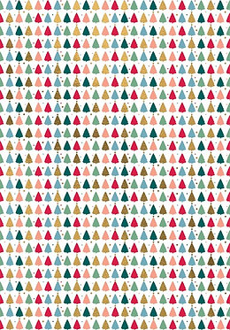 Christmas Trees Roll Wrap