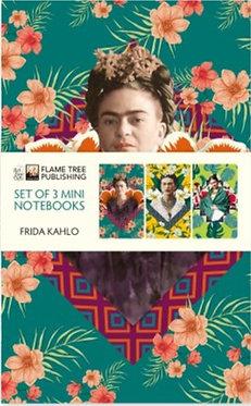Frida Kahlo Mini Notebooks Set of 3