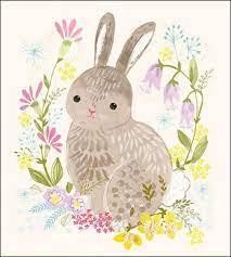Happy Easter Card by Helen Black