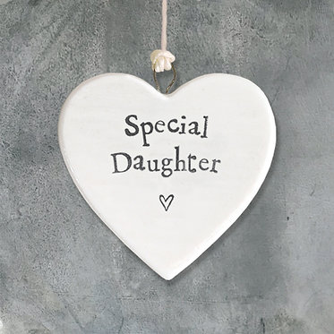 Special Daughter Small Hanging Heart