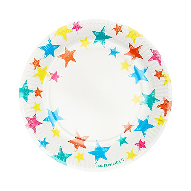 Birthday Brights Star Plate