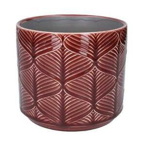 Berry Medium Wave Plant Pot Cover