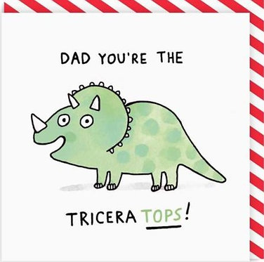 Dad You're the Triceratops