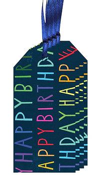 Happy Birthday Gift Tag