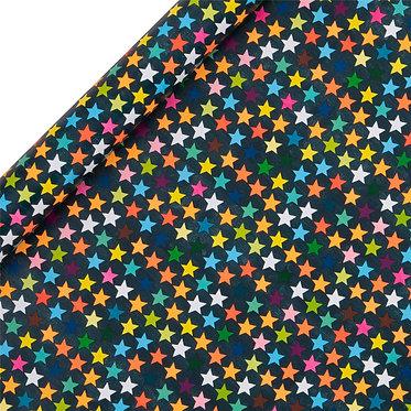 Stars on Dark Background Roll Wrap
