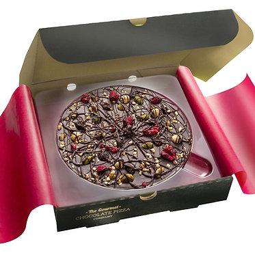 "Decadent Dark   7""Chocolate Pizza"