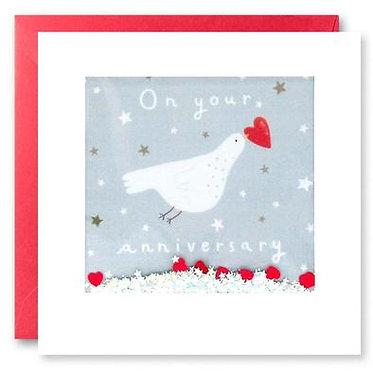 Anniversary Card by James Ellis