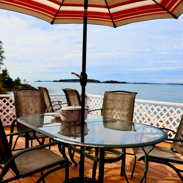 Deck Overlooking the Water