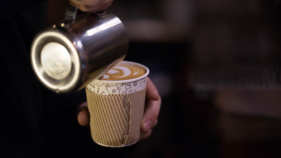 Kaffee Latte Art Kurs