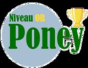 Niveau Poney Or