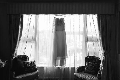 wedding dress, getting ready for wedding