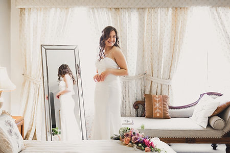 bride getting ready, smile, love
