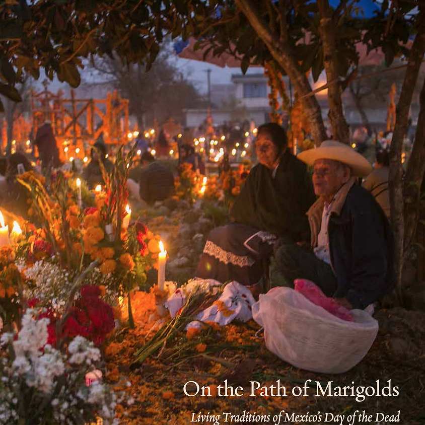 Ann Murdy On the Path of Marigolds