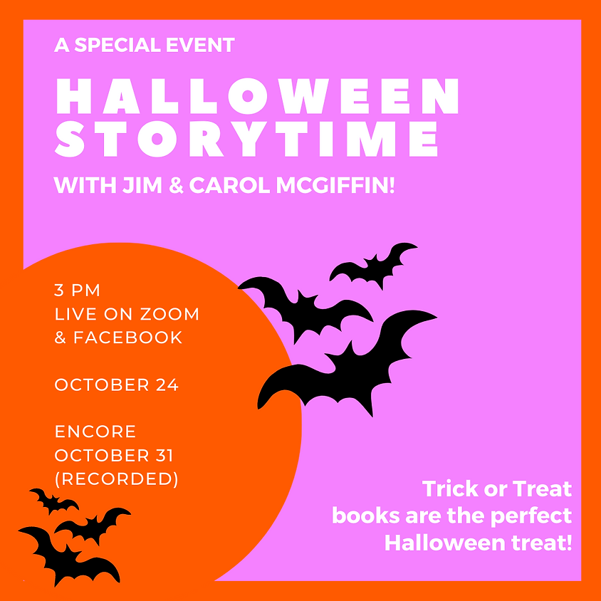 Halloween Storytime! Encore!