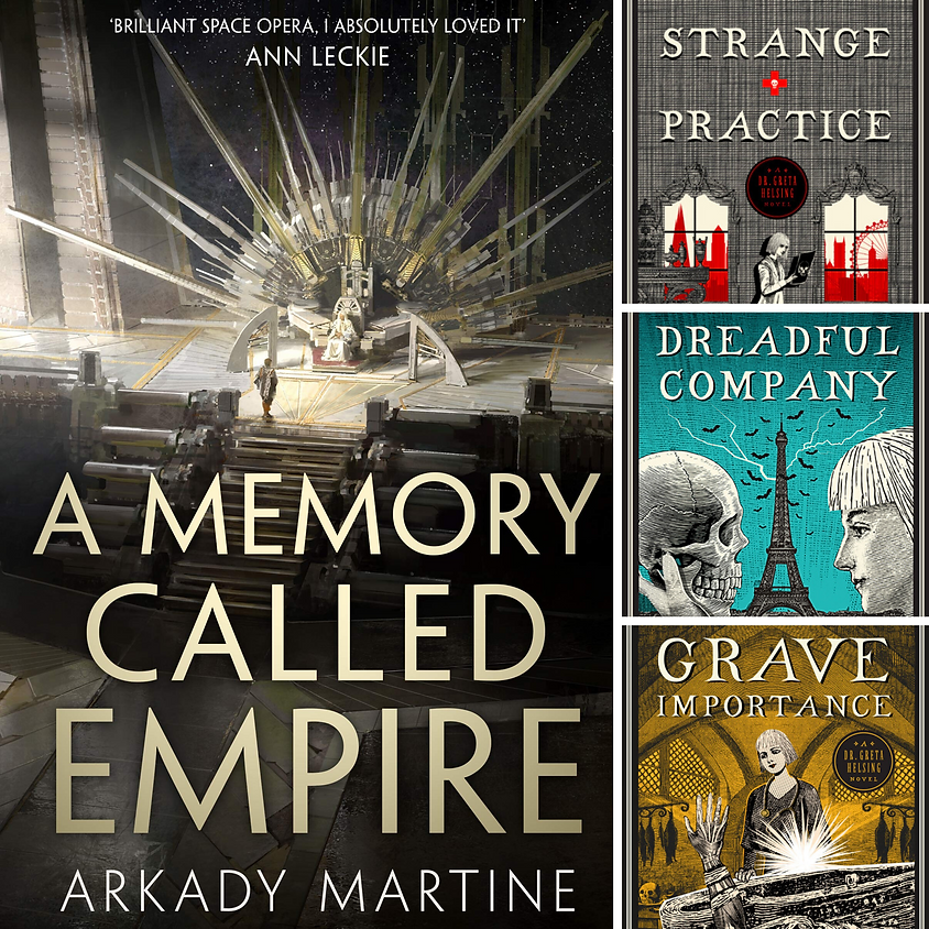 Arkady Martine - A Memory Called Empire and Vivian Shaw - The Greta Helsing Trilogy