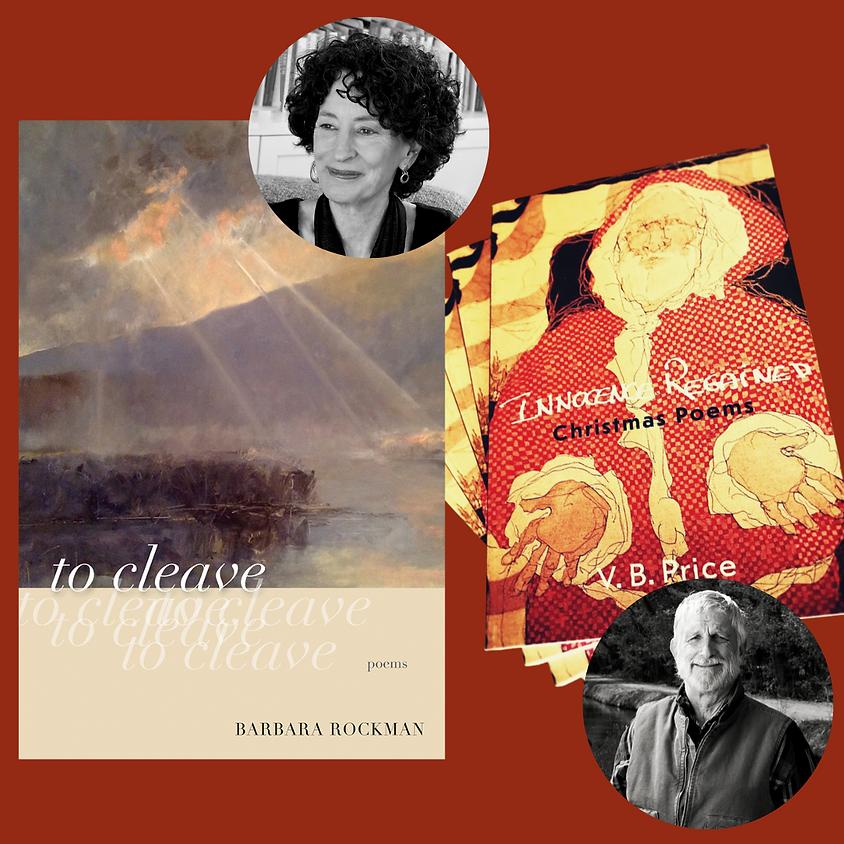 Poets V.B. Price & Barbara Rockman
