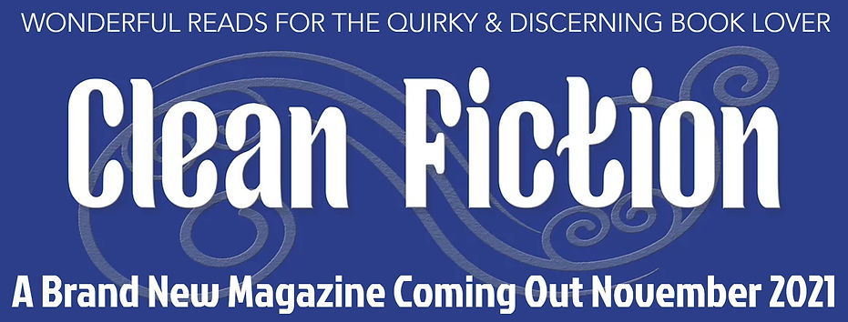 Clean Fiction Magazine Banner