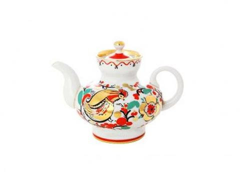TEAPOT SMALL ROOSTERS 1 CUP 8.5 OZ/250 ML