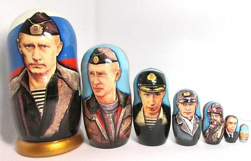 RUSSIAN DOLLS PUTIN
