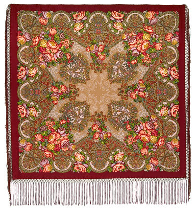 Old Castle Pavlovo Posad Shawl