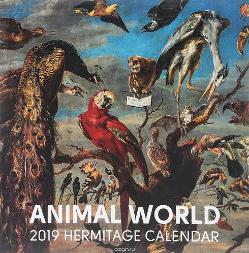 CALENDAR 2019  ANIMAL WOLD