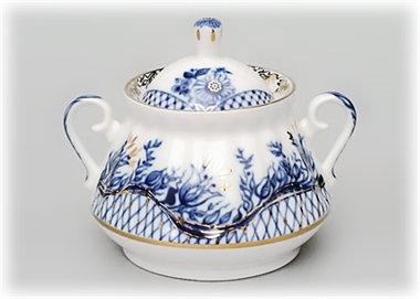 Blue Rhapsody Sugar Bowl