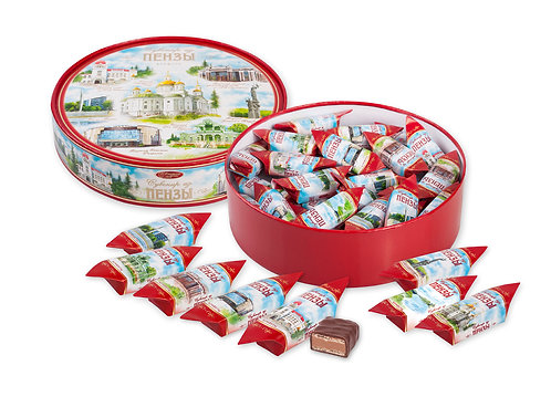 "Box of Chocolate Sweets ""Penza's Souvenir"""