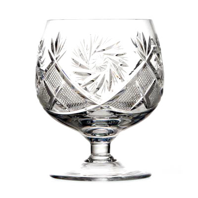 Crystal Brandy Glasses Set of 6