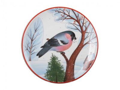 Decorative Wall Plate Bullfintch