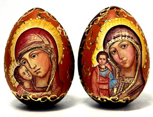 WOODEN EGGS & ICONS