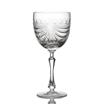 Crystal Red Wine Glasses Set of 6
