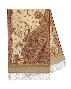 Arabian Nights Pavlovo Posad Shawl/Tippet