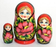 Matryoshka Flowers