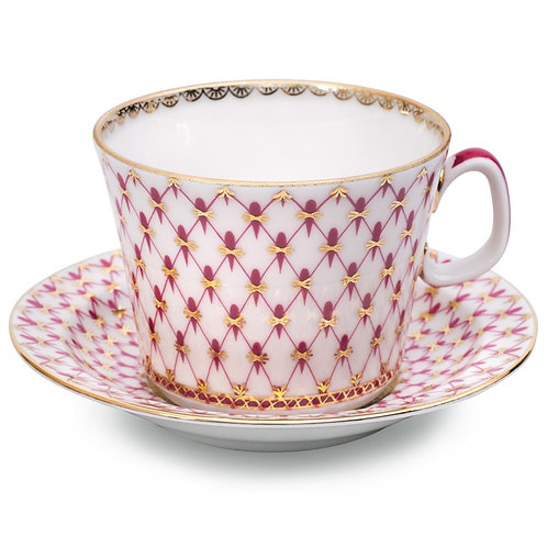 Net-Blues Teacup w/ Saucer