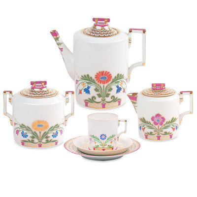 Zamoskvorechye Coffee Set 21 pc. for 6 persons