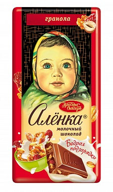 Milk Chocolate & Granola