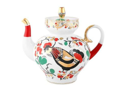 TEAPOT LARGE ROOSTER 11.8 OZ/350 ML