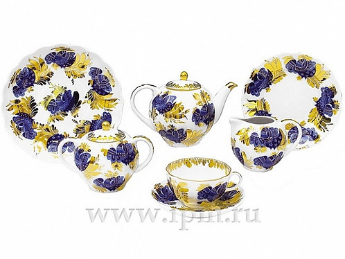 TEA SET TULIP GOLDEN GARDEN 20 ITEMS