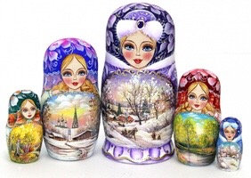 Matryoshka Four Seasons