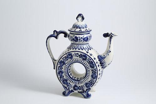 Kapel' Kvasnik/Jug. Blue&White Porcelain. Gzhel.