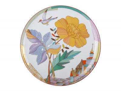 Decorative Wall Plate Hot Summer