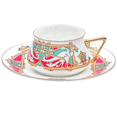 Magic Birds Teacup w/ Saucer