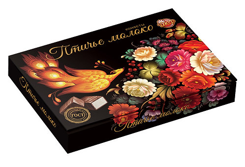 "Box of Chocolate Sweets""""Ptichie Moloko"""