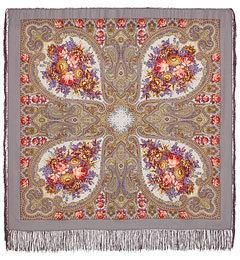 Autumn Lace Pavlo Posad Shawl